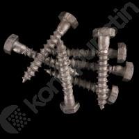 KANSIRUUVI KS  8x50 DIN 571 - 200 kpl/ltk