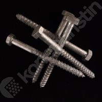 KANSIRUUVI KS 10x120 DIN 571 - 50 kpl/ltk